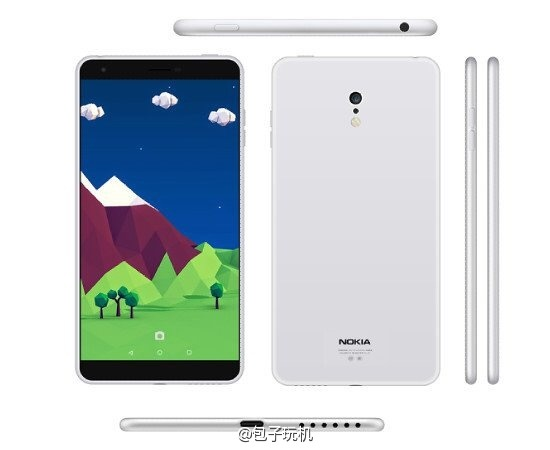 Nokia C1 chay Android ro ri anh thuc te dau tien hinh anh