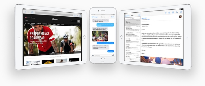 Nhung nang cap dang gia tren iOS 9 hinh anh 10 iOS 9 có nhiều cải tiến đáng giá khác. Ảnh: Apple.