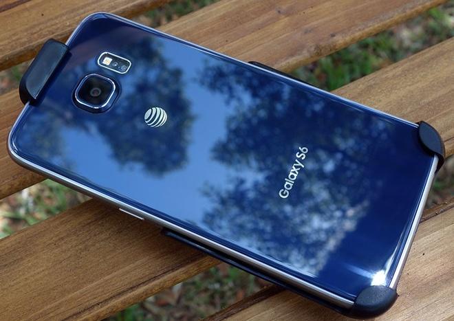 iPhone lam thay doi cuoc choi cua cac nha mang hinh anh 2 Samsung sản xuất Galaxy S6 dành riêng cho AT & T.