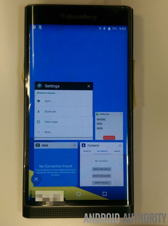 BlackBerry Venice ro ri anh thuc te hinh anh 5 Các chi tiết phần cứng khác có thể bao gồm vi xử lý hexa-core Snapdragon 808 tốc độ 1,8 Ghz từ Qualcomm và RAM 3 GB.