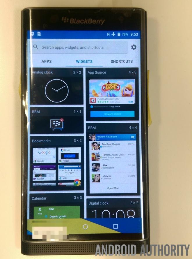 BlackBerry Venice ro ri anh thuc te hinh anh 7 Chrome có thể là trình duyệt chính trên Venice, do đó người dùng sẽ không bị mắc kẹt với trình duyệt web mặc định của BlackBerry.