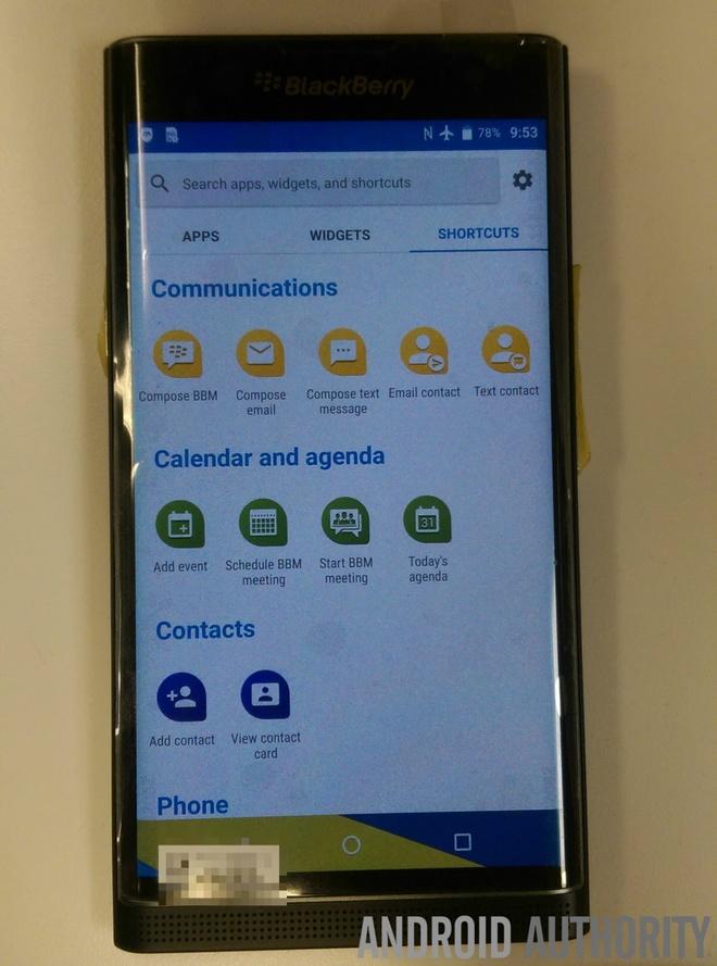 BlackBerry Venice ro ri anh thuc te hinh anh 9 BlackBerry dự kiến sẽ giới thiệu Venice tại Mỹ vào tháng 11 năm nay.