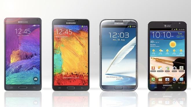 Lich su dong Galaxy Note cua Samsung hinh anh
