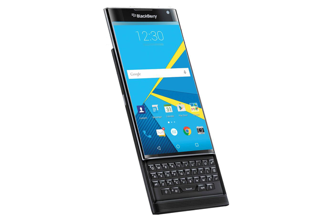 BlackBerry Priv nap truot chay Android sap ra mat hinh anh 1