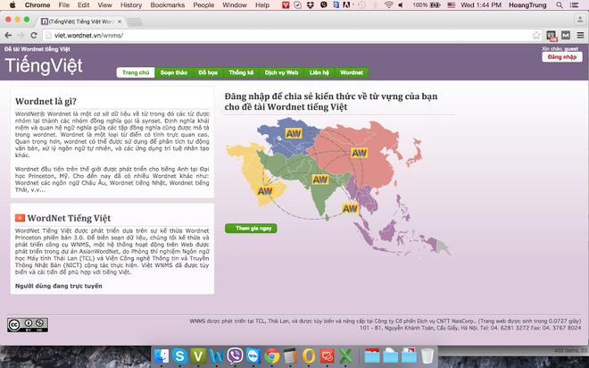 Kho du lieu 30.000 tu tieng Viet online hinh anh 1