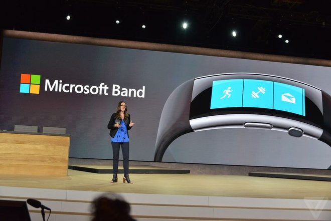 Microsoft Band 2 ra mat, ban tu 30/10 voi gia 249 USD hinh anh