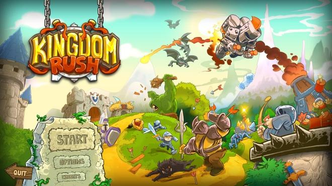 10 tua game khong the bo qua tren iPhone hinh anh 8 Kingdom Rush là một trong những game thủ thành cổ điển xếp hàng top trên App Store. Người chơi sẽ nhận nhiệm vụ tại các bản đồ, xây dựng quân đội và vũ khí để bảo vệ thành trì khỏi các binh đoàn. Bản đồ được sắp xếp theo thứ tự khó dần, sau mỗi nhiệm vụ người chơi sẽ nhận được số sao nhất định để năng cấp trang thiết bị và quân đôi. Game hiện tại có ba phiên bản trên kho ứng dụng: Kingdom Rush, Kingdom Rush Frontiers và Kingdom Rush Origins.