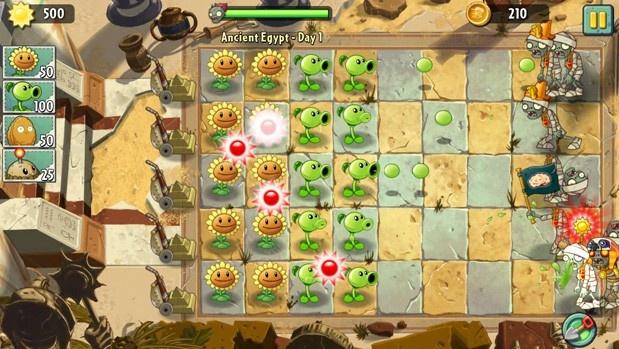 10 tua game khong the bo qua tren iPhone hinh anh 9 Plants vs. Zombies 2, nối tiếp sự thành công của phiên bản trên PC và bản game trên iOS, PopCap tiếp tục tung ra phần hai của câu chuyện Hoa quả nổi giận với nhiều thay đổi độc đáo. Plants vs. Zombies 2 từng là tựa game độc quyền trên iOS, hiện tại trò chơi được có thể tải về miễn phí trên nhiều nền tảng.