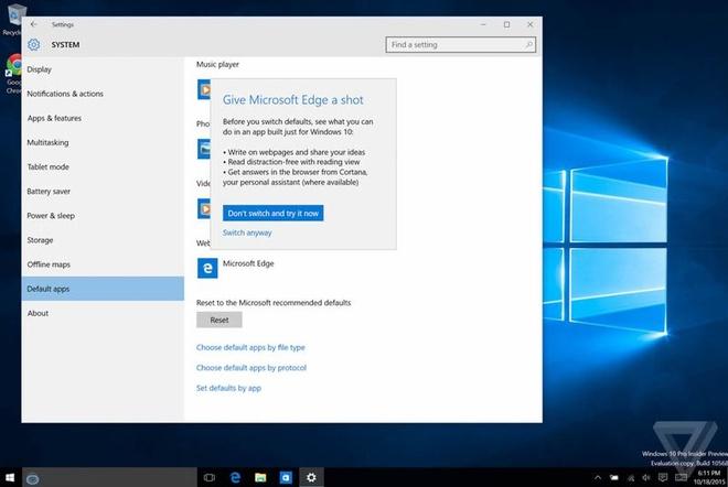 Microsoft tim moi cach giu chan nguoi dung tren Windows 10 hinh anh 1 Thông điệp Microsoft gửi đến người dùng.
