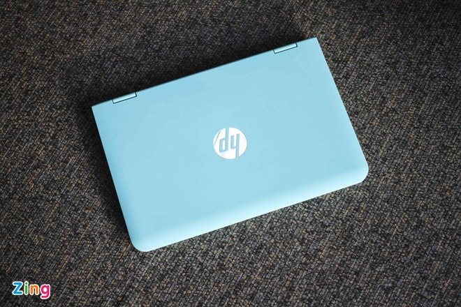 HP X360 gia re, man hinh cam ung xoay lat 360 do hinh anh 1