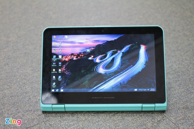 HP X360 gia re, man hinh cam ung xoay lat 360 do hinh anh 9