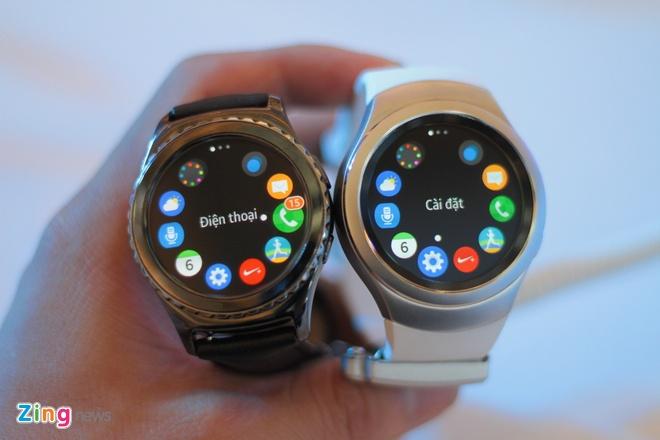 Samsung Gear S2 ve Viet Nam, gia tu 6,5 trieu dong hinh anh 2