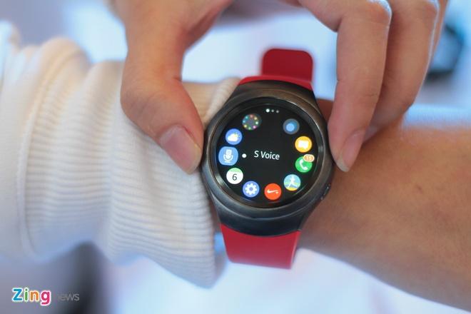 Samsung Gear S2 ve Viet Nam, gia tu 6,5 trieu dong hinh anh 5