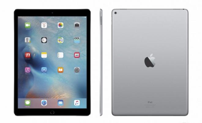 iPad Pro se chinh thuc len ke vao ngay 13/11 hinh anh 1 Ảnh chiếc iPad Pro phiên bản màu bạc. Ảnh: Gsmarena.