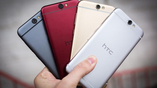 HTC One A9 chinh hang co gia 11,9 trieu dong hinh anh