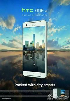 HTC sap trinh lang One X9 hinh anh