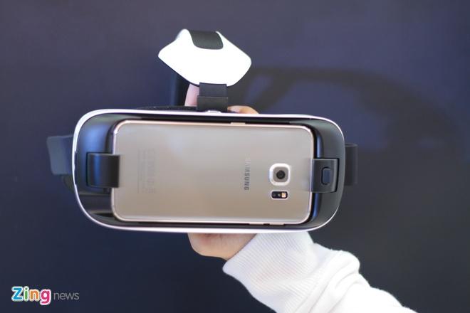 Trai nghiem kinh thuc te ao Samsung Gear VR tai Viet Nam hinh anh 1