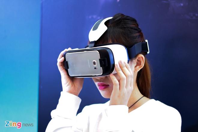 Trai nghiem kinh thuc te ao Samsung Gear VR tai Viet Nam hinh anh 7