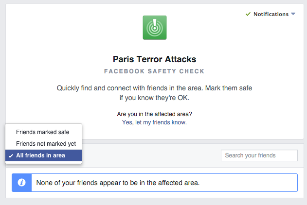 Vi sao Facebook chi bat tinh nang an toan o Paris hinh anh