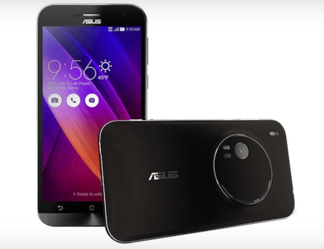 Asus chuan bi phat hanh ZenFone Zoom gia 399 USD hinh anh