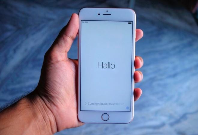 iPhone 6S bi nghi lam mat du lieu sau khi phuc hoi iCloud hinh anh