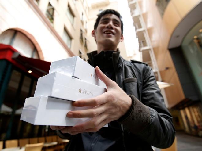 Apple vuot cot moc 100 trieu nguoi dung iPhone tai My hinh anh 1