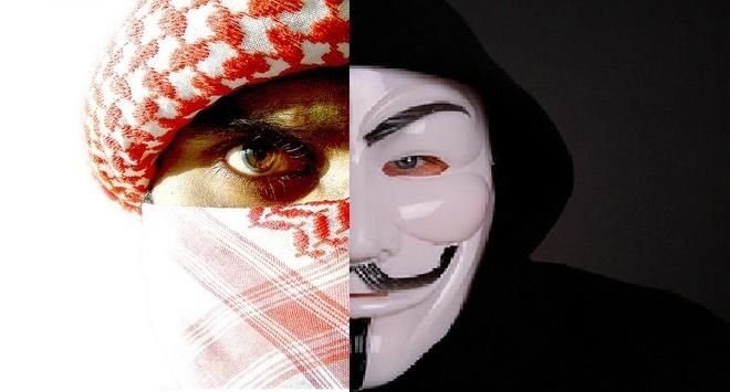 The gioi thay gi qua cuoc chien Anonymous va IS? hinh anh