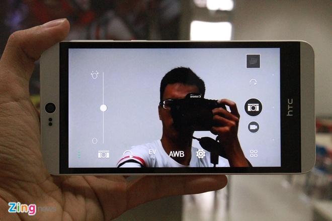 Mo hop HTC Desire 826 Dual chuyen selfie hinh anh 12