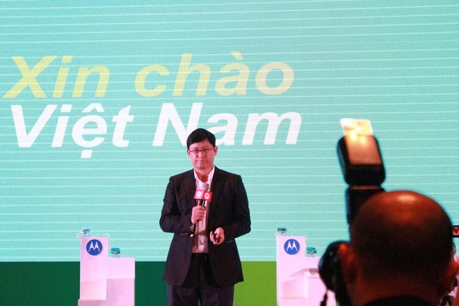 Motorola chinh thuc tro lai Viet Nam hinh anh