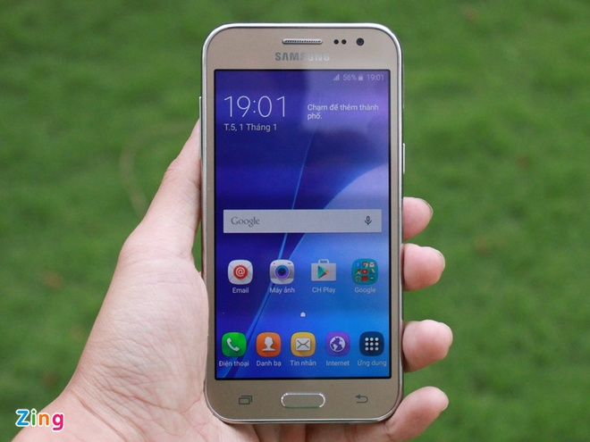 Mo hop Galaxy J2 gia 3,2 trieu dong o Viet Nam hinh anh 3