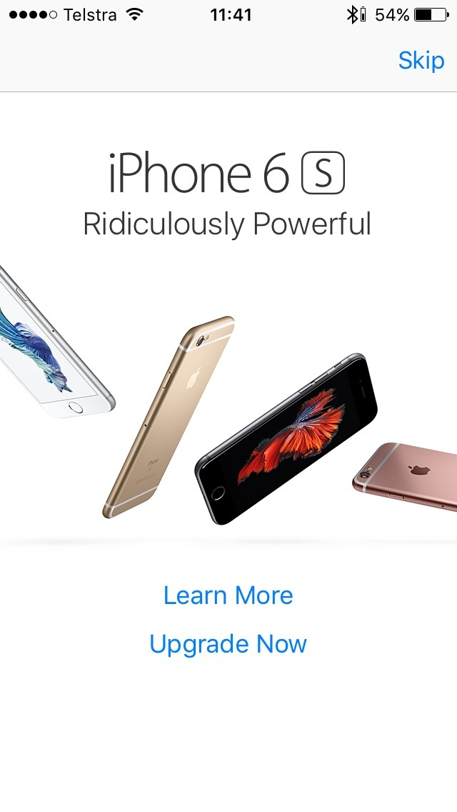 Apple len dua quang cao iPhone 6S vao App Store hinh anh