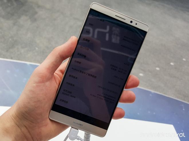 Anh thuc te Huawei Mate 8: Man hinh 6 inch, pin 4.000 mAh hinh anh 2