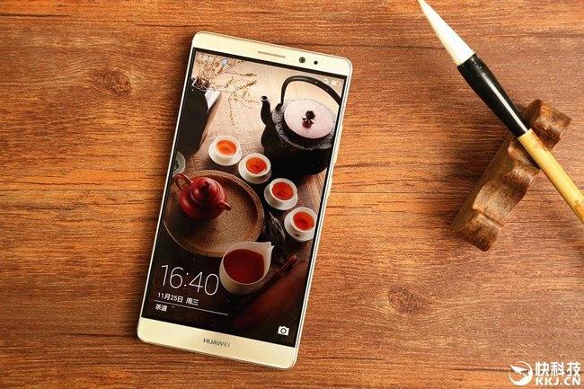 Anh thuc te Huawei Mate 8: Man hinh 6 inch, pin 4.000 mAh hinh anh