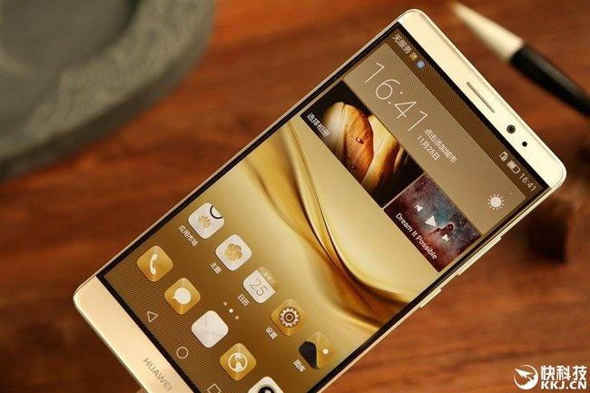 Huawei gioi thieu Mate 8 hinh anh