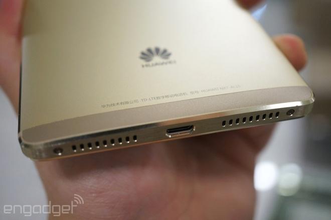 Anh thuc te Huawei Mate 8: Man hinh 6 inch, pin 4.000 mAh hinh anh 6