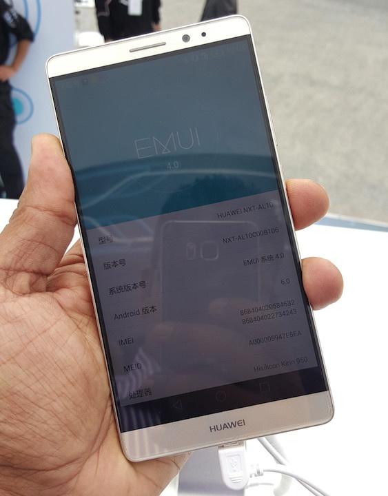Anh thuc te Huawei Mate 8: Man hinh 6 inch, pin 4.000 mAh hinh anh 13