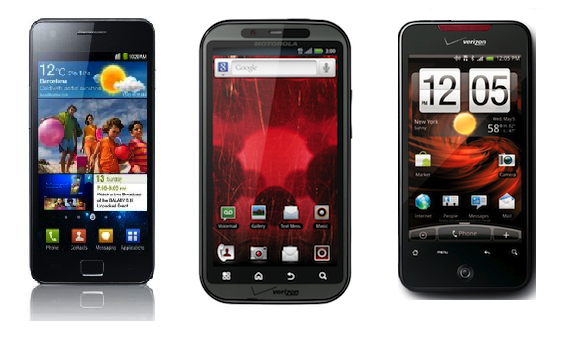 Ai da giet HTC? hinh anh 3 HTC mờ nhạt bên cạnh Samsung và Motorola.