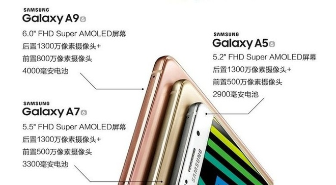 Galaxy A9 co pin 4.000 mAh, ra mat dip Giang sinh hinh anh 1