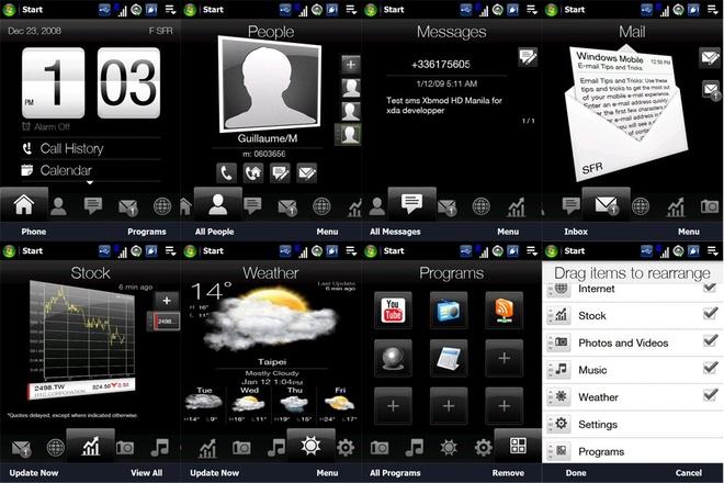 Ai da giet HTC? hinh anh 2 TouchFLO 3D, tiền thân của HTC Sense trên Android.