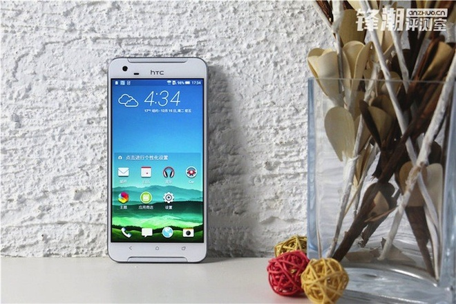 HTC One X9 chinh thuc lo dien trong loat anh thuc te hinh anh