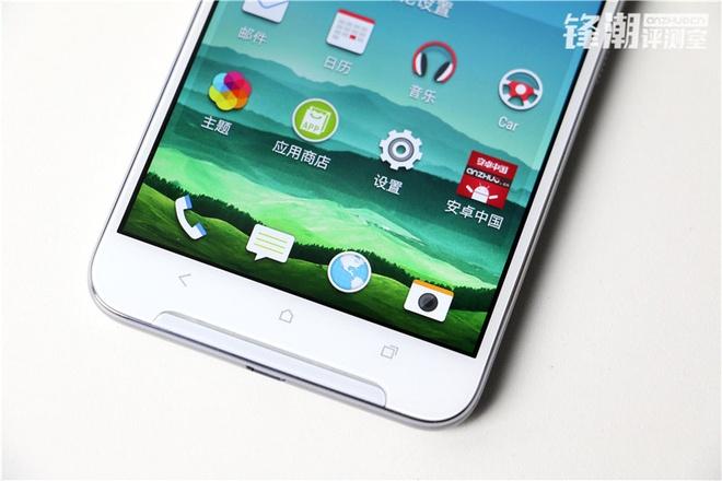 HTC One X9 chinh thuc lo dien trong loat anh thuc te hinh anh 3 Ngoài các phím cảm ứng điện dung, mặt trước của thiết bị cũng đánh dấu sự trở lại của cụm loa BoomSound vốn là đặc trưng trên các thiết bị HTC.