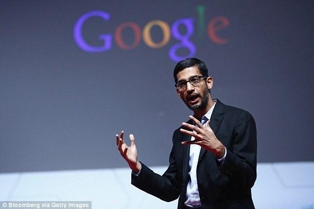 Sundar Pichai, một trong những người quyền lực nhất giới công nghệ hiện tại. Ảnh: Daily Mail UK.