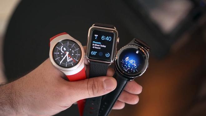 Sau smartphone, cuoc chien smartwatch bat dau hinh anh