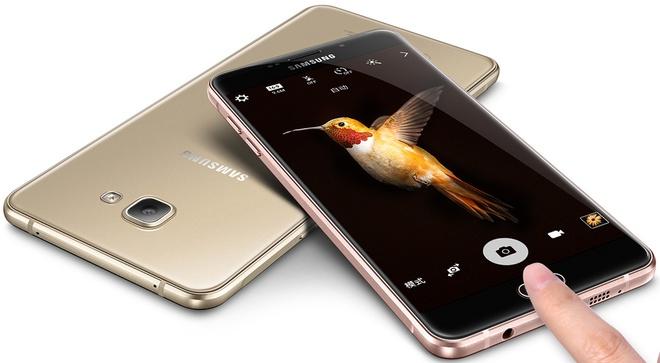 Samsung ra mat Galaxy A9 mong 7,5 mm, man hinh 6 inch hinh anh
