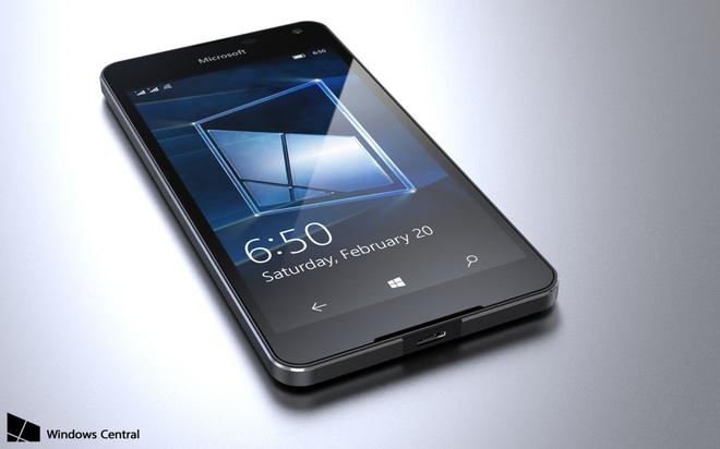 Ban dung smartphone gia re Lumia 650 hinh anh 4
