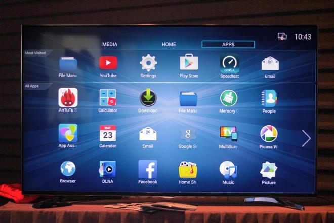 Thuong hieu Viet trinh lang TV 4K, man hinh 100 inch hinh anh 2