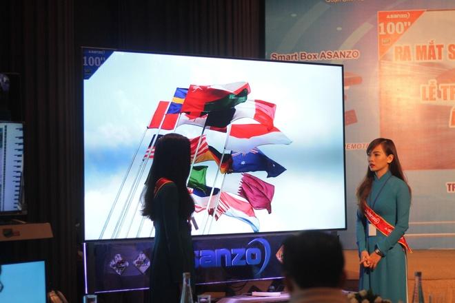 Thuong hieu Viet trinh lang TV 4K, man hinh 100 inch hinh anh