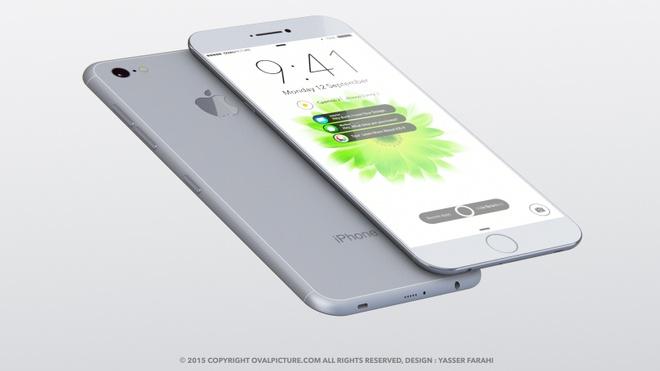 iPhone 7 co the khong dung khung kim loai, bo vach ang ten hinh anh