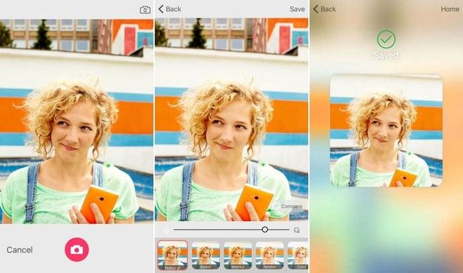 Microsoft tung ung dung chup anh tu suong cho iOS hinh anh