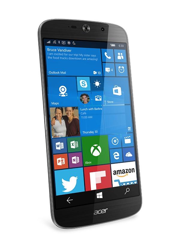 Acer ra mat smartphone Liquid Jade Primo chay Windows 10 hinh anh 3
